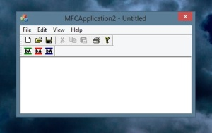 Toolbar - Programa