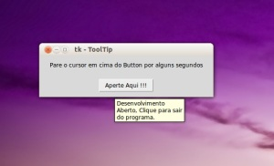 ToolTip - Tkinter