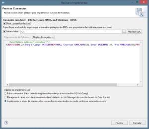 Implementação - Script SQL