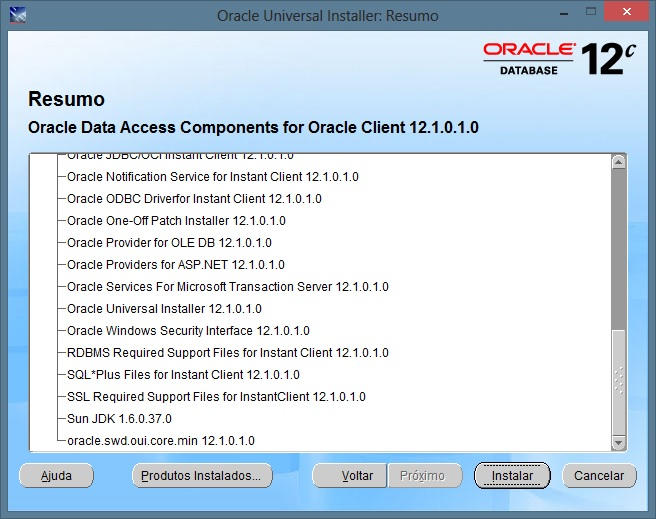 Instalando o ODAC – Oracle Data Access Components  NET e Oracle