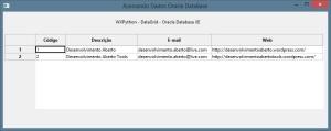 WxGrid - Oracle