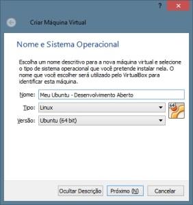 Configuração - Ubuntu - 64 bits