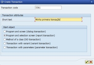 Create Transaction