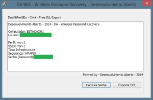 DA - Wireless Password Recovery - V1.2
