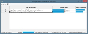 DA - Google Chrome Password Recovery