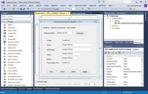 Visual C++ - Design