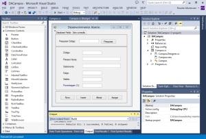 Visual Studio - Design