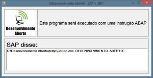 Programa C# - Parâmetros