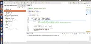 Código Python