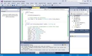 Windows - Aplicação - Visual Studio