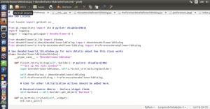 GEdit - Projeto Python - Quickly