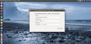 Ubuntu SDK - C++ - Programa