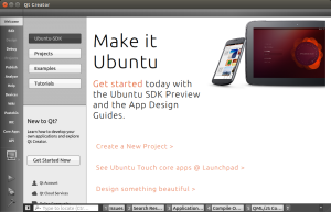 Ubuntu SDK - QTCreator