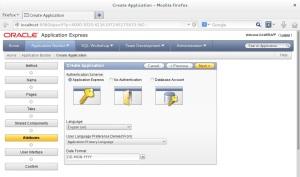 Autenticação - Língua - Formato da Data
