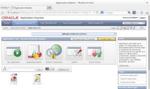 Aplicação - Oracle Apex