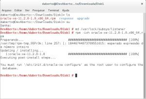 Instalando o Oracle XE
