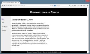 Aplicação - Firefox