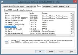 Driver SAP MaxDB ODBC 64bit