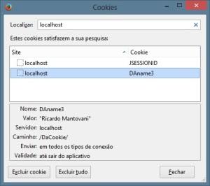 Firefox - Cookie