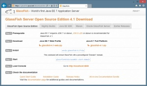 Glassfish - Open Source Edition