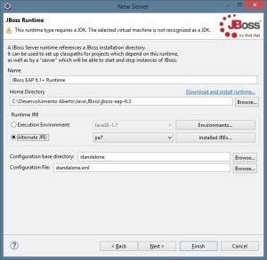 JBoss - Servidor e JDK