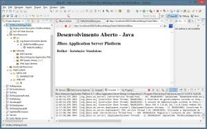 Aplicação - JBoss Enterprise Platform