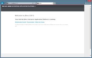 JBoss - Localhost:5080