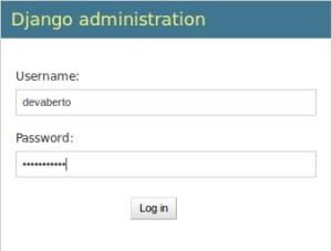 DJango - Admin - Login