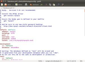 Rails - Conexão - MySQL