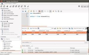 MySQL - Workbench - Modelo