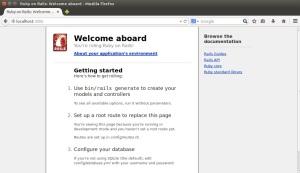 Rails Server - Localhost