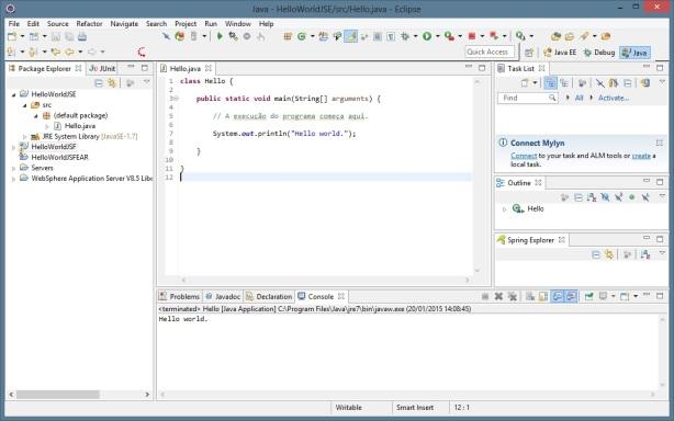 Eclipse - Java - Console