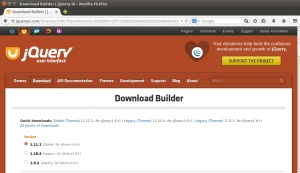 JQuery UI - Download