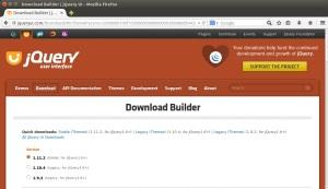 JQuery UI - Download