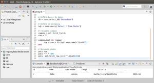 Apatna - Programa - MySQL