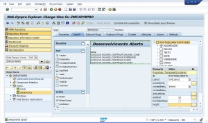 Web Dynpro - View- Associar Atributos
