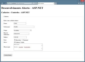 ASP.NET - Elementos - Controles