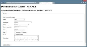 ASP.NET - Aplicação