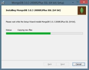 MongoDB - Andamento