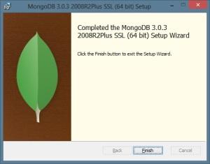 MongoDB - Finalizar