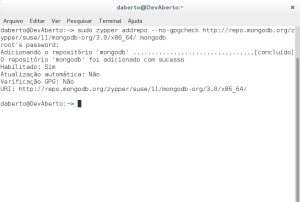 MongoDB - Repositorio