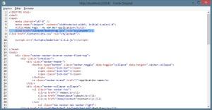 MVC - Código HTML