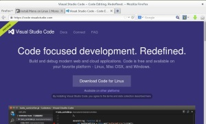 Visual Studio Code  - Download