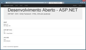 ASP NET - MVC - Entity Framework