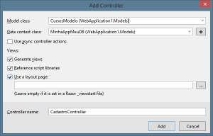 MVC - Dados do Controlador